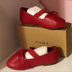 Zara baby shoes (Red)